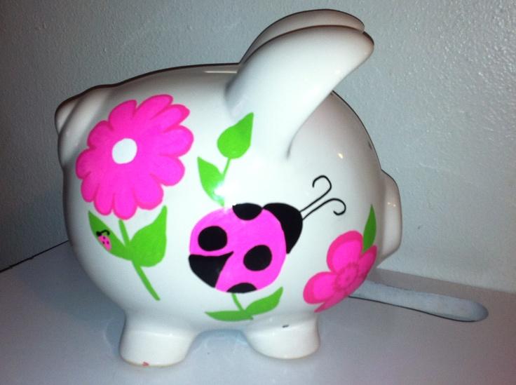 Best Paint For Acrylic Piggy Bank