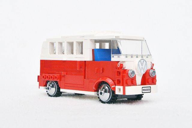 Sharing my MOC 6 studs wide build Volkswagen type 2 Camper Van made for the Detective in modular building DO. Hmm..I reckon this will be useful during his...