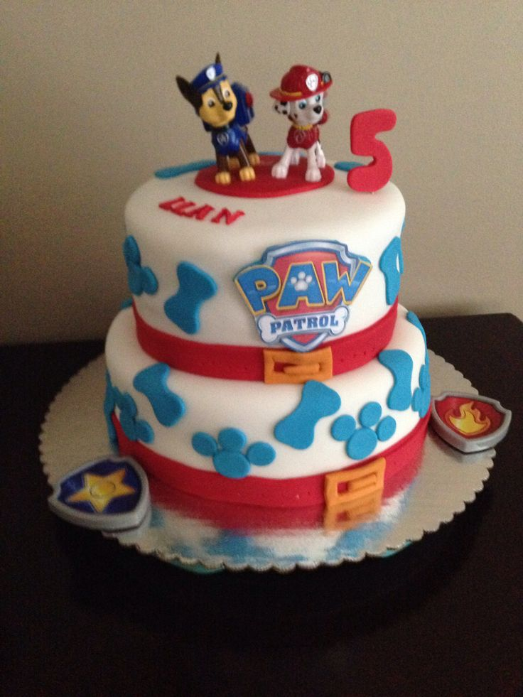 Images Of Paw Patrol Birthday Cake : Paw Patrol Birthday Cake By Me Pinterest Colors ...