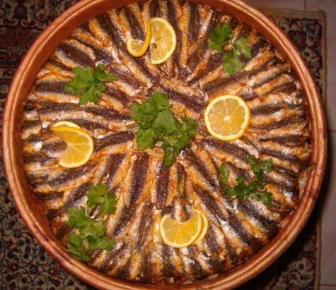 Turkish food turkish-food HAMSİ güveçte pişirilmiş