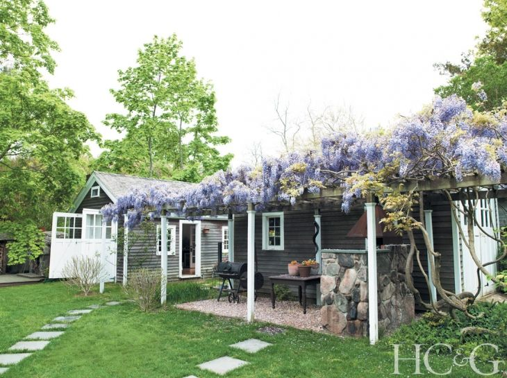 Tour a Charming Art Filled Home on Shelter Island - Hamptons Cottages & Gardens - July 1 2013 - Hamptons