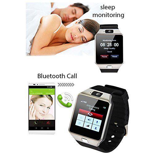 Smart Watch DZ09 With Camera Bluetooth WristWatch SIM Card Smartwatch For Ios Android Phones Support Multi Languages (Black) 15.99  #Black #BluetoothBluetooth #CallReminder #CallingRemind #ColorGold #DZ10 #FM #FunctionBluetoothDialer #Funtion:SleepMonitor,Dial,CallingRemind,SMS,Sedentaryalarm,Alarmclock,Stopwatch,Calculator,Photograph,Clock,NotificationBluetoothSync,TimeSync,MusicPlayer. #GIF...