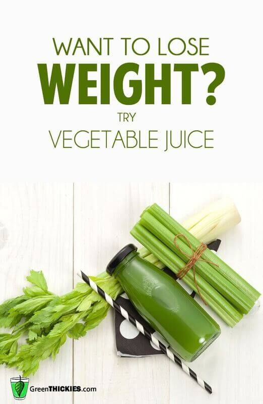Want to Lose Weight? Try Vegetable Juice