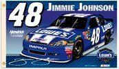 Official # #48 Jimmie Johnson 2012 Premium Two Sided 3'x 5' NASCAR Flag by Bayfield Trading Post. $39.95. Status: In Stock. Orders received after 12 pm EST will be processed the next business day. Shipping rates for the continental US only. This item cannot be shipped to a PO Box.