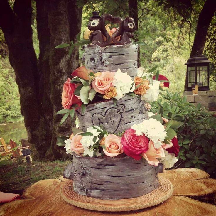 Cute country girl cake love