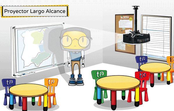 ¿QUÉ VENTAJAS TIENEN LOS PROYECTORES DE ULTRA CORTO ALCANCE? Proyector Optoma X307UST - todopdi.com