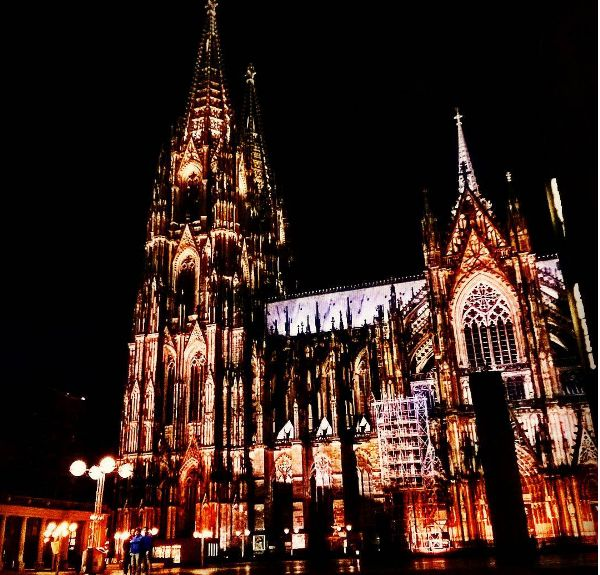 #Koln cathedral by night