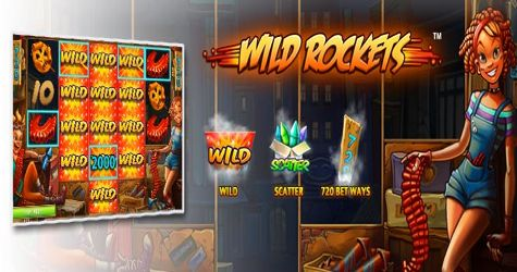 Have you ever played a casino slot that is offering over 243 winning ways or 50 betting lines? If not, you might want to start with an explosive game called the #WildRockets slot machine. Software: #Netent Theme: #Party, Fireworks Reels: 5 Bonus Game: Yes