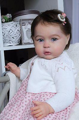 Boneca Reborn protótipo Princesa Charlotte Em 1 Anos De Tomas dyprat