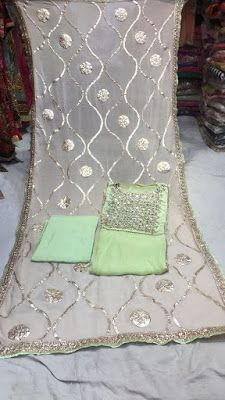 Rajasthani Gota Patti work Suits: Heavy gotapattti work suits online for order Whats...