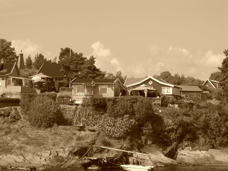 Norway - Typical village close to Oslo (photo by Sebastiano Piotti)