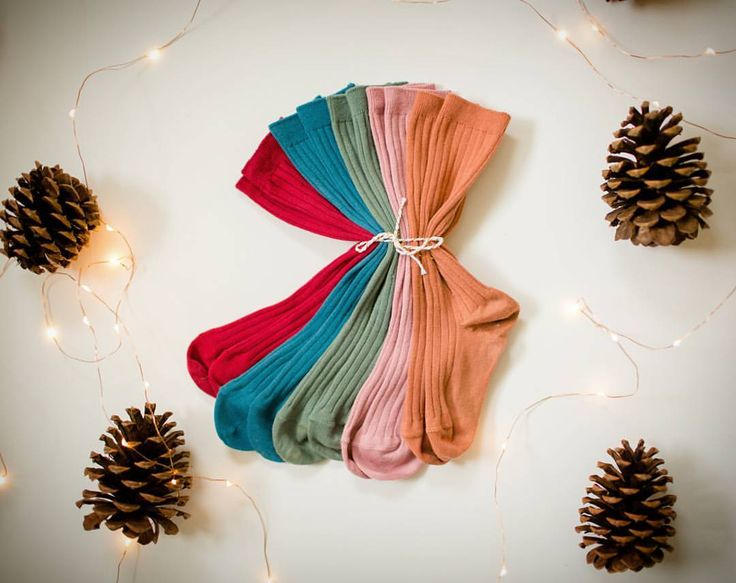 """820 Likes, 54 Comments - Little Light Feet (@littlelightfeet) on Instagram: """"🎀Cherry/Peacock/Lichen/Antique Rose/Clay🎀 A fun little holiday bundle available at 10am CST today!…"""""""