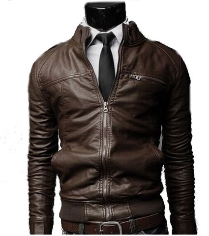 Cool Faux Leather Jacket at www,appareldise.com