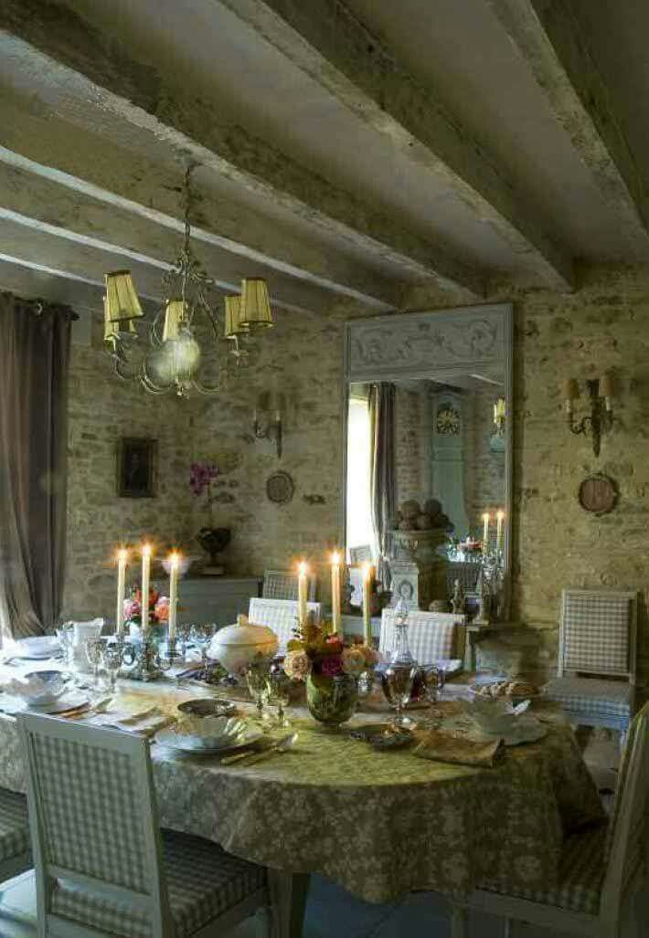 French Stone HomeDining Room