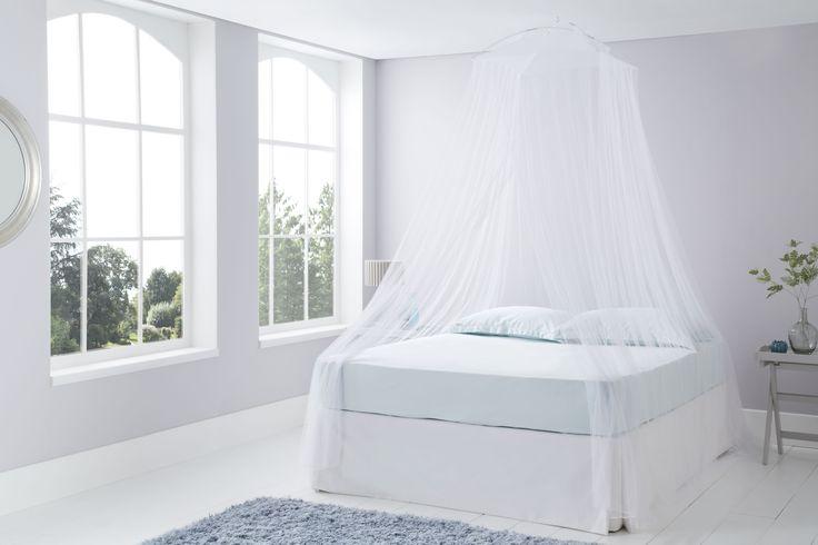 White Resort Style Mosquito Net