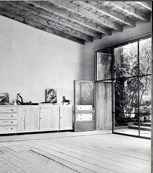 workshop of luis barragan, 1948.