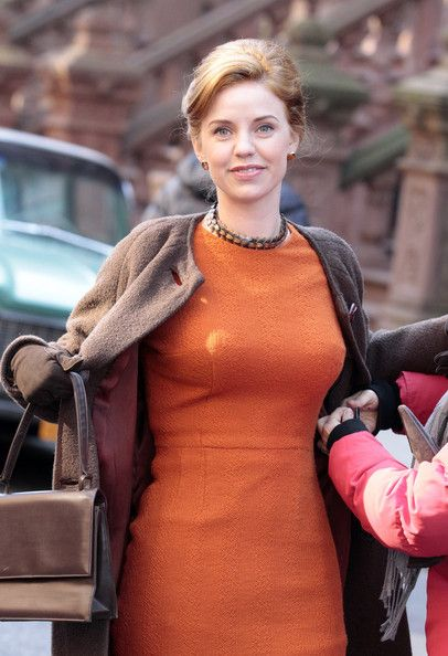 Kelli Garner on the 'Pan Am' Set