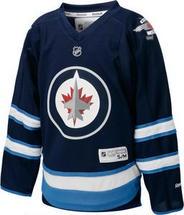 NHL Winnipeg Jets Navy Reebok Jersey