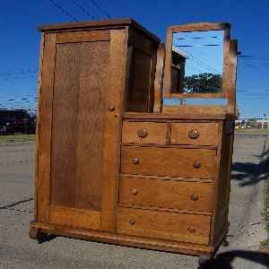 images 1900s wardrobes with dressers - Google Search