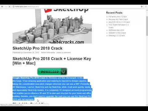 sketchup pro 2018 crack   license key windows