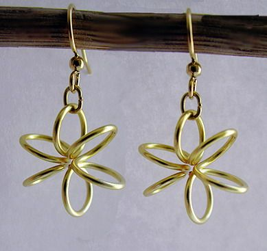 Keeping Things Simple...: Tutorial: Spring Flower Earrings