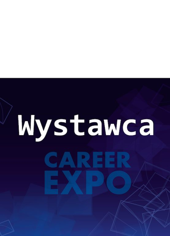 Identyfikator Career EXPO - szablon