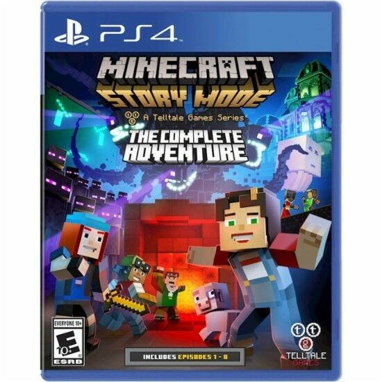 Ps4 Minecraft Story Mode Complete Adventure New Sealed Region Free