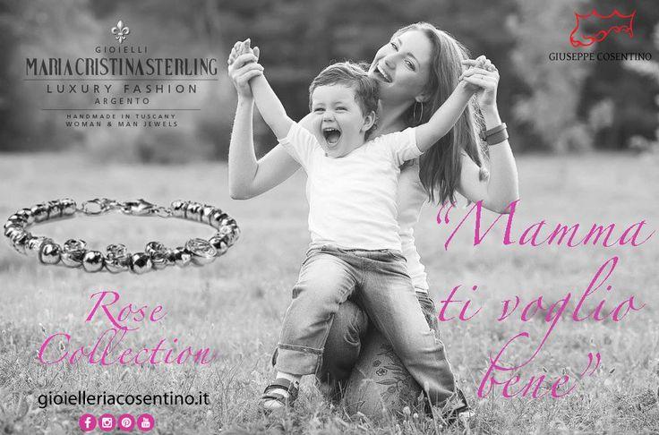 MARIA CRISTINA STERLING GIOIELLI   Rose Collection   Regala Rose Collection per la Festa della Mamma! L'otto maggio è vicino! Disponibile presso Gioielleria Cosentino, Corso Manfredi 181   Manfredonia (FG)