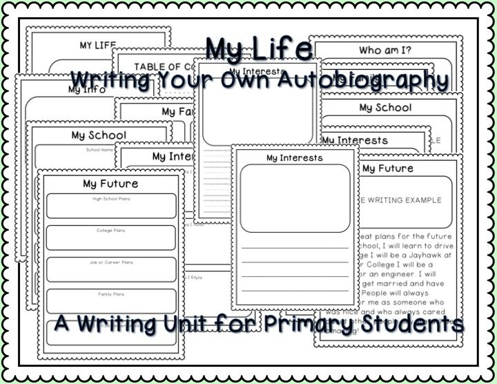 biography sample paper best writing images teaching ideas teaching ...