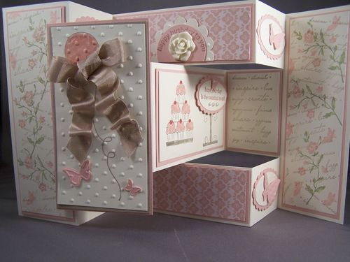 Best TriShutter Card Ideas Images On   Folded Cards