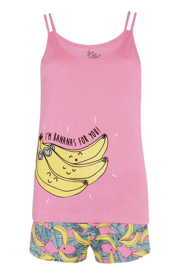 Primark - Pigiama con banane