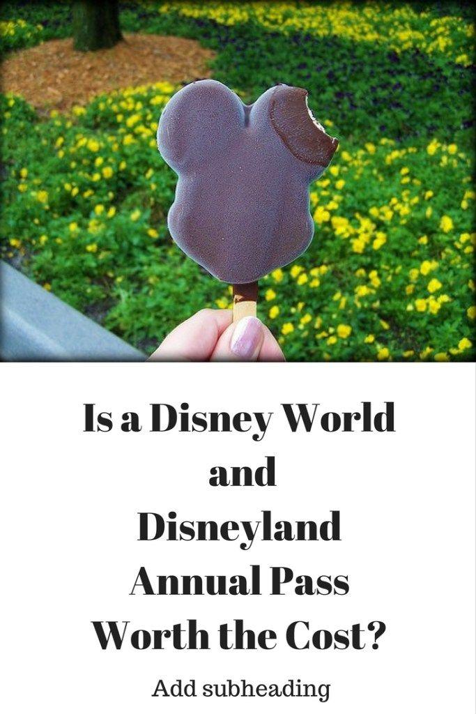 Disney World and Disneyland Annual Pass