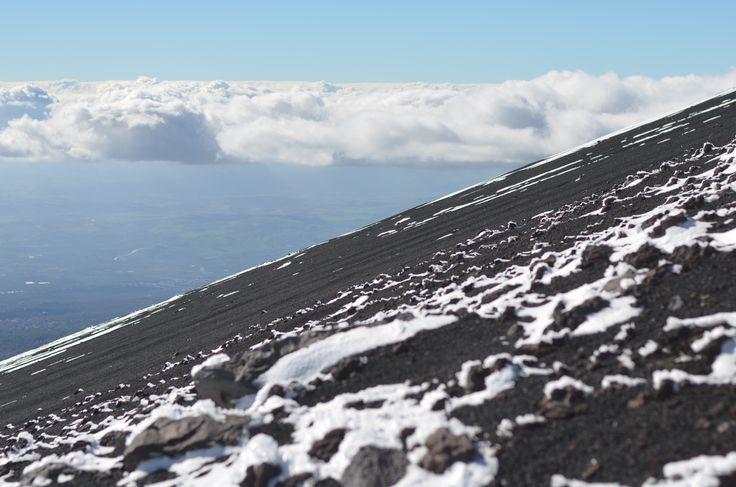 Black sand in the sky, Etna