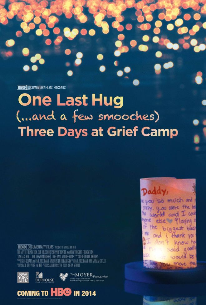 One Last Hug - HBO Documentary on bereavement and the way children view death. (Awesome grief counseling ideas)