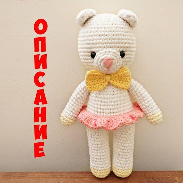 Leithygurumi: Marina Brichka - Amigurumi Ayı - Türkçe Tarif / Amigurumi Bear English Pattern