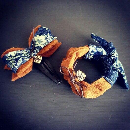 Super mooie set.. haarknipje en bijpassend armbandje van HipjeKnipje! Te bestellen via hipjeknipje@gmail.com  #HipjeKnipje #haaraccessoires #meiden #zomer #outfit #hip #newborn #haarknipjes #armband #bracelet #hairclip #leather #leer #vilt #strikje #bow #stoer #peuter