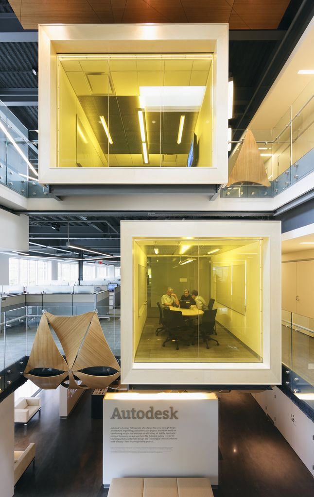 Cool Interior Office Designs With Plants: 118 Best Images About Cool Tech Offices & Workspaces On