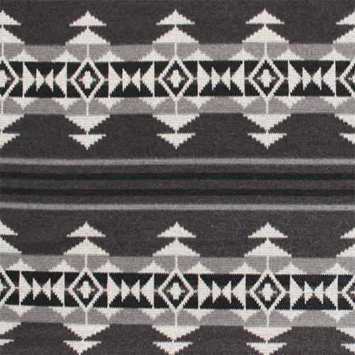 Navajo Indian Designs Gray Black Hacci Sweater Knit Fabric A Girl Charlee Favorite N Inside Design Inspiration