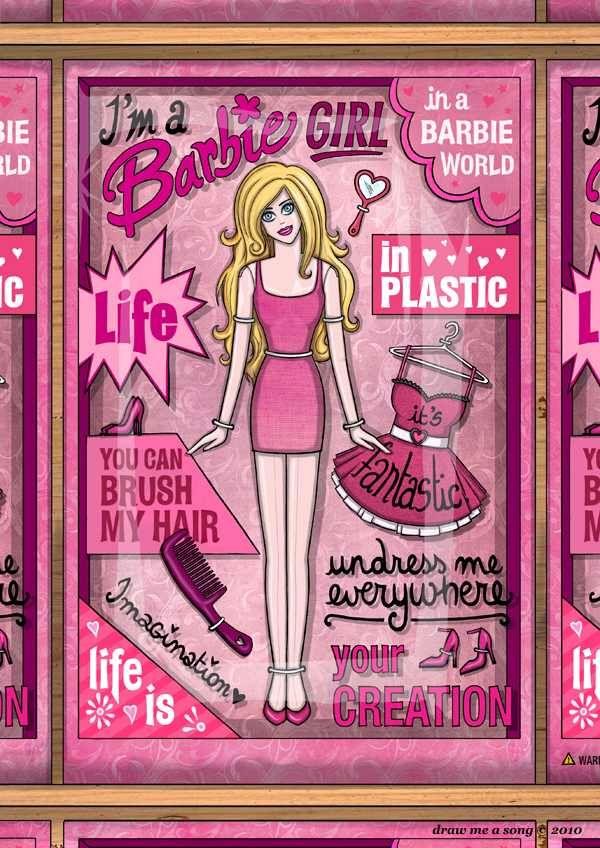 I'm a Barbie Girl in a Barbie World | Barbie | Pinterest