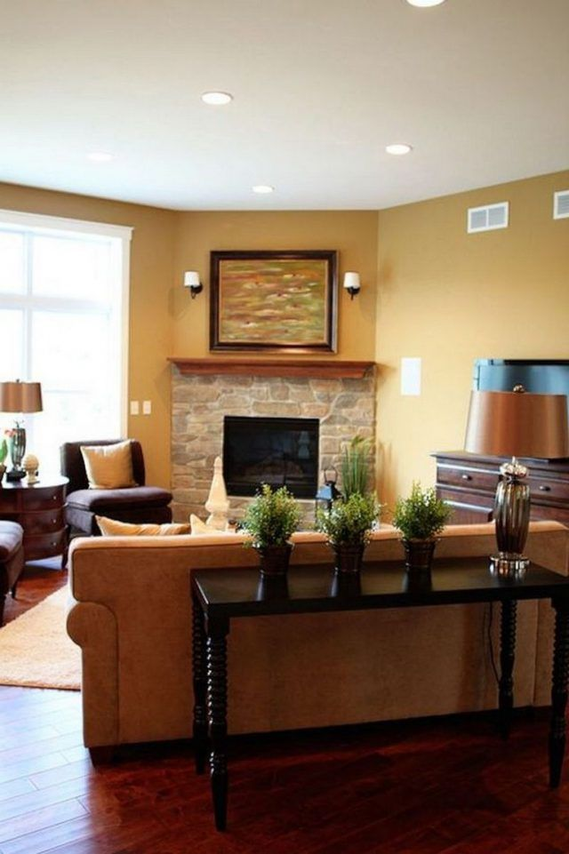 55 Luxury Living Rooms With Stone Fireplaces Furniture Placement Living Room Corner Fireplace Living Room Living Room Corner