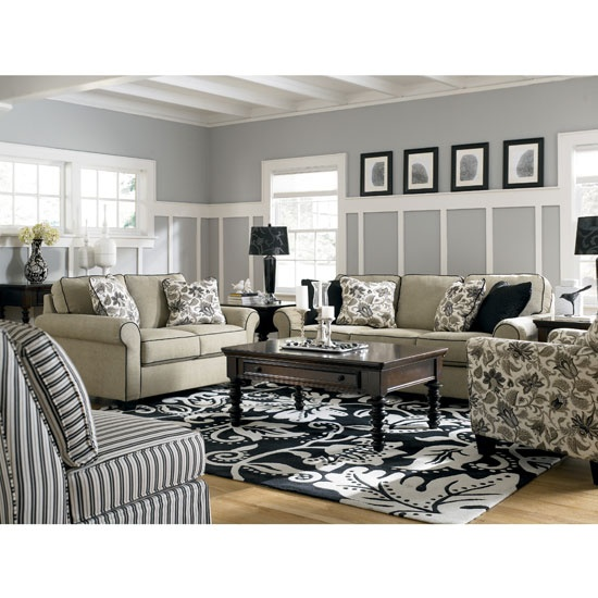 Caroline Sepia Living Room Set By Signature Design By Ashley Furniture,  17700 Se Furniture