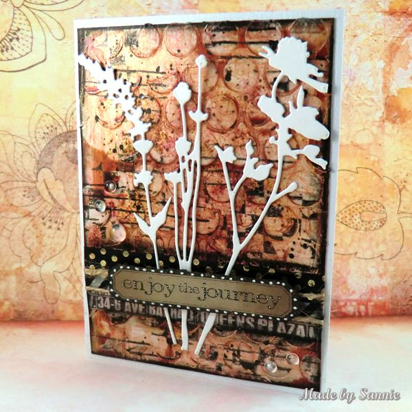 Made by Sannie: Layer it up card with video tutorial