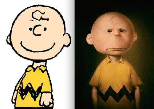Charlie Brown, Peanuts. You Can't Miss This! The 18 Most Famous Cartoon Characters In 3D • Page 5 of 5 • BoredBug