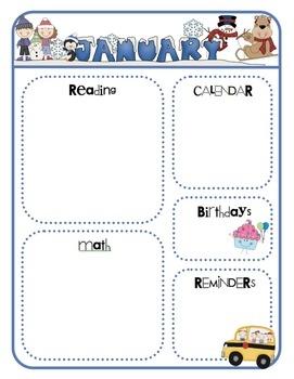 parent newsletter templates for teachers - Dorit.mercatodos.co