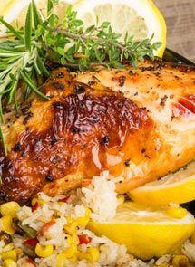 Receta de Pollo asado al ajo y limón para Crock Pot
