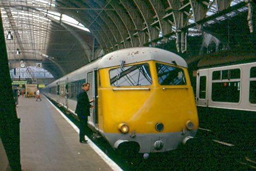 South Wales Pullman at Paddington in 1972 by Tom Burnham, via Flickr