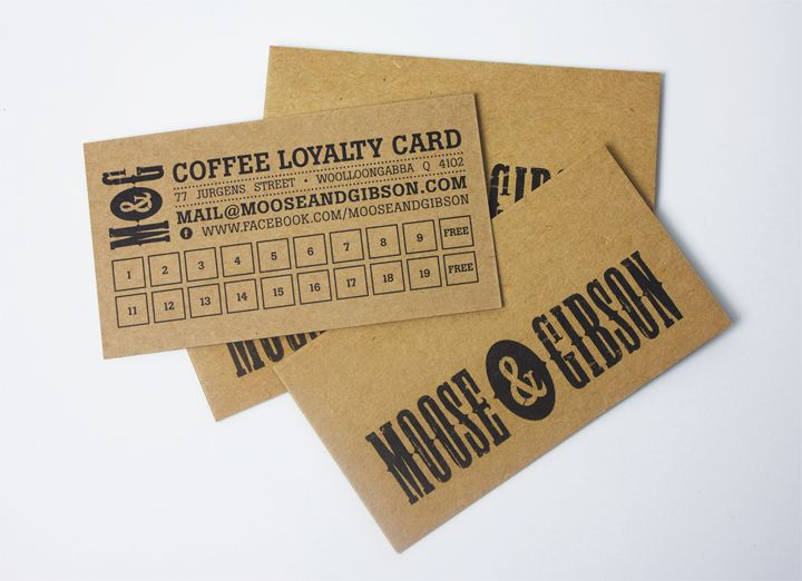 Moose and Gibson   |   Business Cards  |   Tinker Creative   |   Graphic Design Brisbane