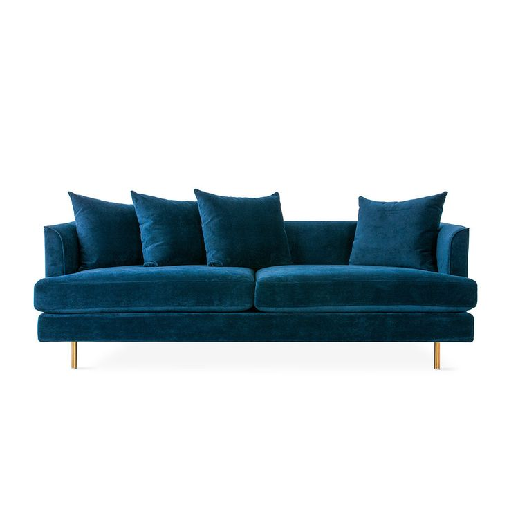 a cookie monster blue couch!