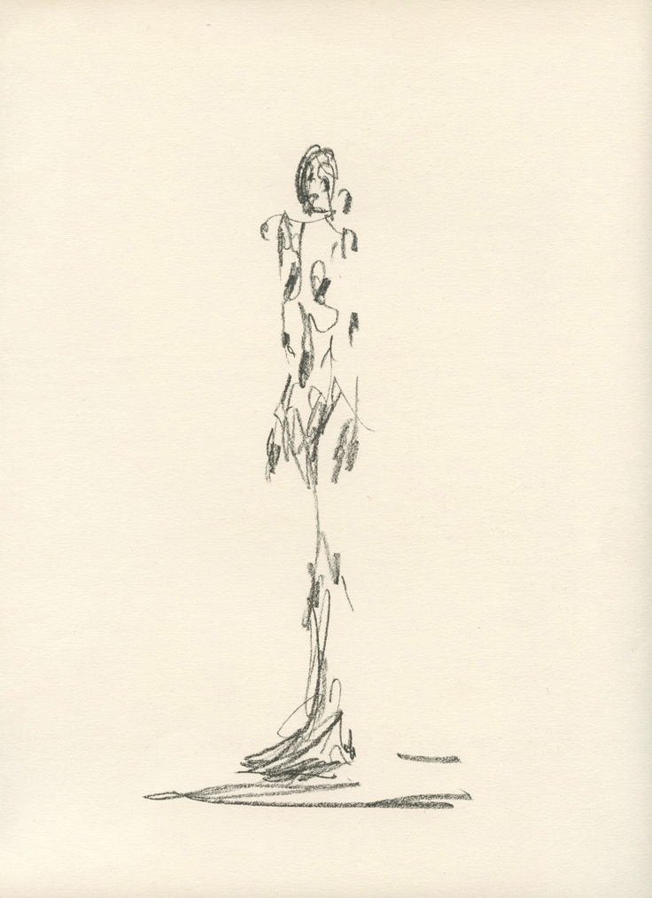 Lithograph for Cahiers d'Art 1951 Alberto Giacometti