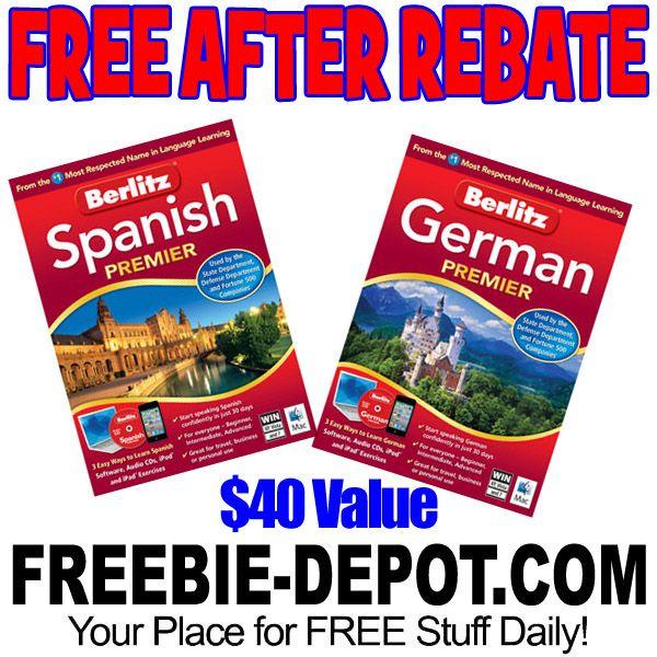 ►► FREE AFTER REBATE - Berlitz Foreign Language Learning Software - German, Italian, French, Japanese, Chinese - Exp 3/18/17 ►► #FreeAfterRebate, #FREEShipping, #FREESoftware, #FREEStuff, #FreeTravel, #FREEbate, #Frys.Com ►►